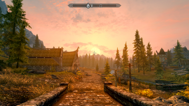 Sunset over Honningbrew Meadery