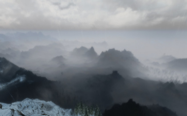 Dragons Reach with Real Clouds and NLA ENB