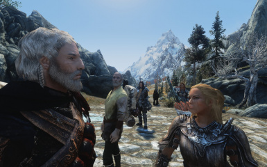 Fenris and The Fellowship of the Dovahkiin