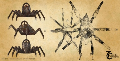 Ancient Enhanced Mzark Spider Worker