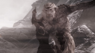 Frost Troll on the Mountain