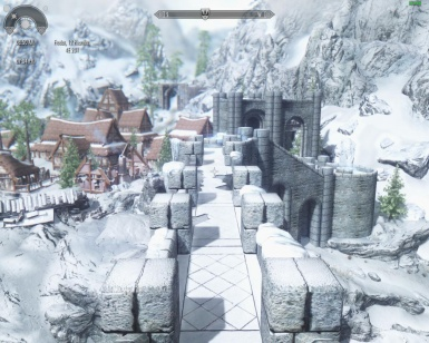 WinterHold from the college