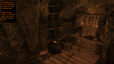Hideaway - smithing nook done