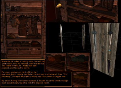Swamp home Reborn - Wardrobe Male Done