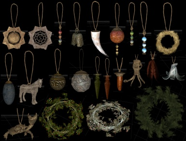 Christmas Decorations Clutter Modding Resource-  V2