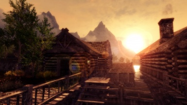 Sunshine at Riften