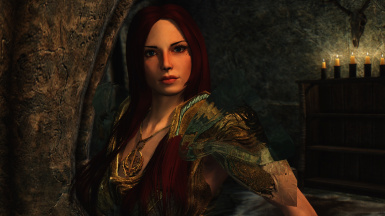 Serana in a new outfit