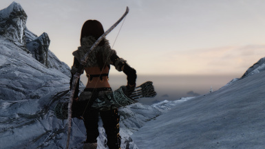 Tania the Hermit Northgirl and Black Rose Combo Outfit