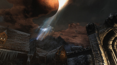 Night over Windhelm
