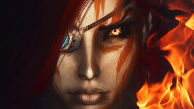 Forever Darkness Companions Vae Camoran FIRE EYES