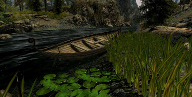 Boat by the Riverside