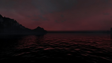Sanguine sunset