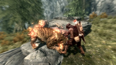 Skyrim - Sabre cat