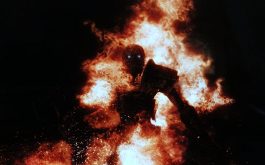 Draugr in Flames