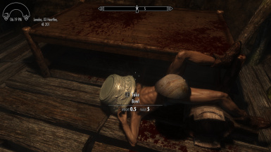 Having fun with dead bodies