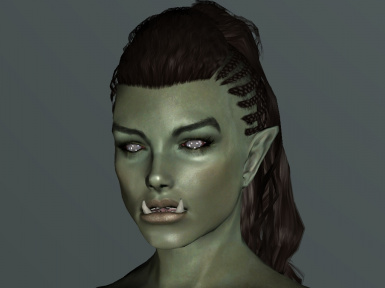 Simple Portrait of an Orc