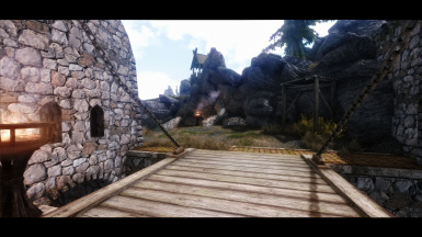 Exiting Whiterun
