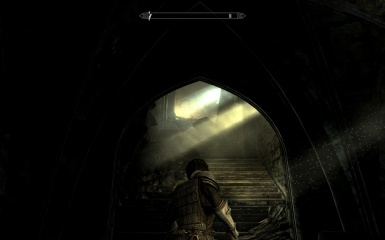 entering the ruin of the vampire king