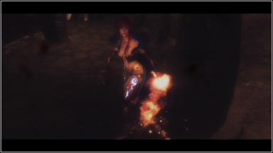 Cyndrie fire mage