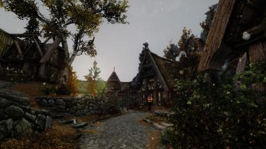 Snow at Whiterun