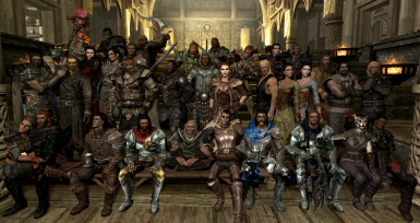 All of mine and my friends characters
