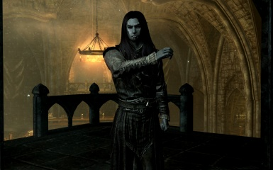 WIP EotW Dawnguard DLC Textures Remastered - Alt textures for male Vampire armors