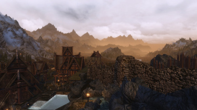 Morning in Whiterun