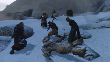 The Peace Delegations torturing a Frost troll