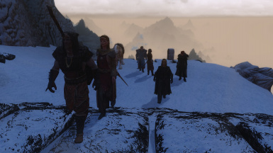 Its a busy day up at High Rothgar