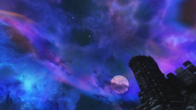 Night Sky at High Hrothgar