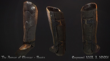 Armor of the King Elessar - boots