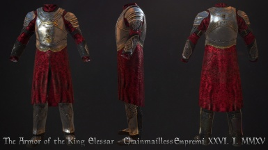 Armor of the King Elessar - Chainmailless
