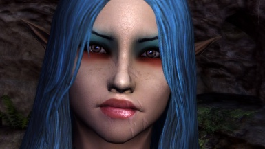 Realistic Female Face Textures by Den