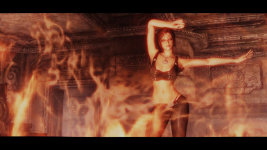 Fire Dancer - Eliana