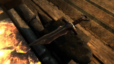Hilt of the Flaming Bane