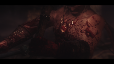 Conan Covered in Blood