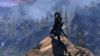 On the Mountain of Sovngarde