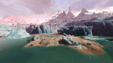Dovah Naakin Origin ENB awesome glacier