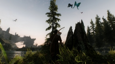 The Intrigue of Dragons and Thalmor part 5 - Following the sound of stream and river