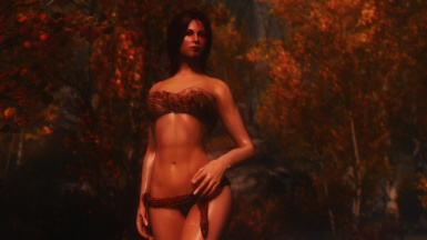 One who knows the song of the cold wind at dusk among golden leaves - Sexy Wednesday