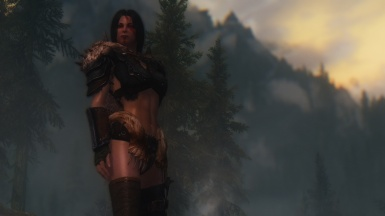 One with a warrior spirit under a gilded sky