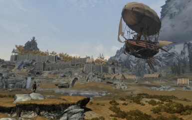 Now theres something you dont see in Whiterun everyday