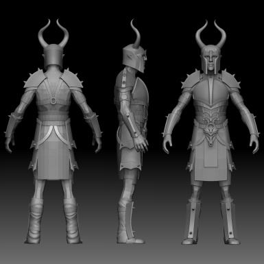 Dragon Forged Ancient Nord Armor WIP 1