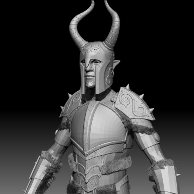 Dragon Forged Ancient Nord Armor WIP 5