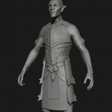 DF Ancient Nord Armor WIP