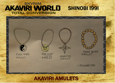 Akaviri Amulets Replacement for Akaviri World Total Conversion Project