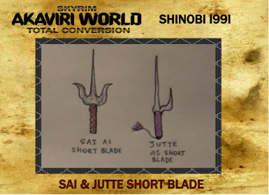 Sai and Jutte for Akaviri World Total Conversion Project