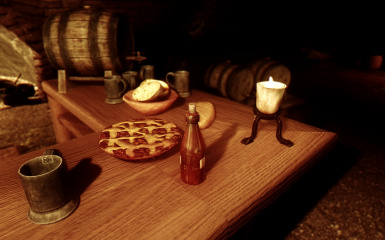 Dinner Is Served At The Ragged Flagon