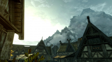 Throat of the World from Whiterun