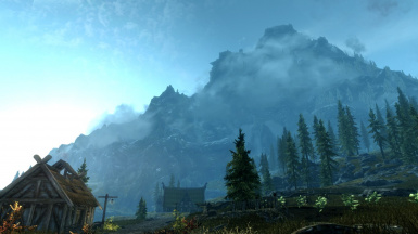 Throat of the World From Whiterun Again